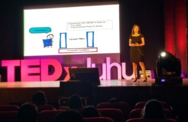 Hansi speaking at TedX